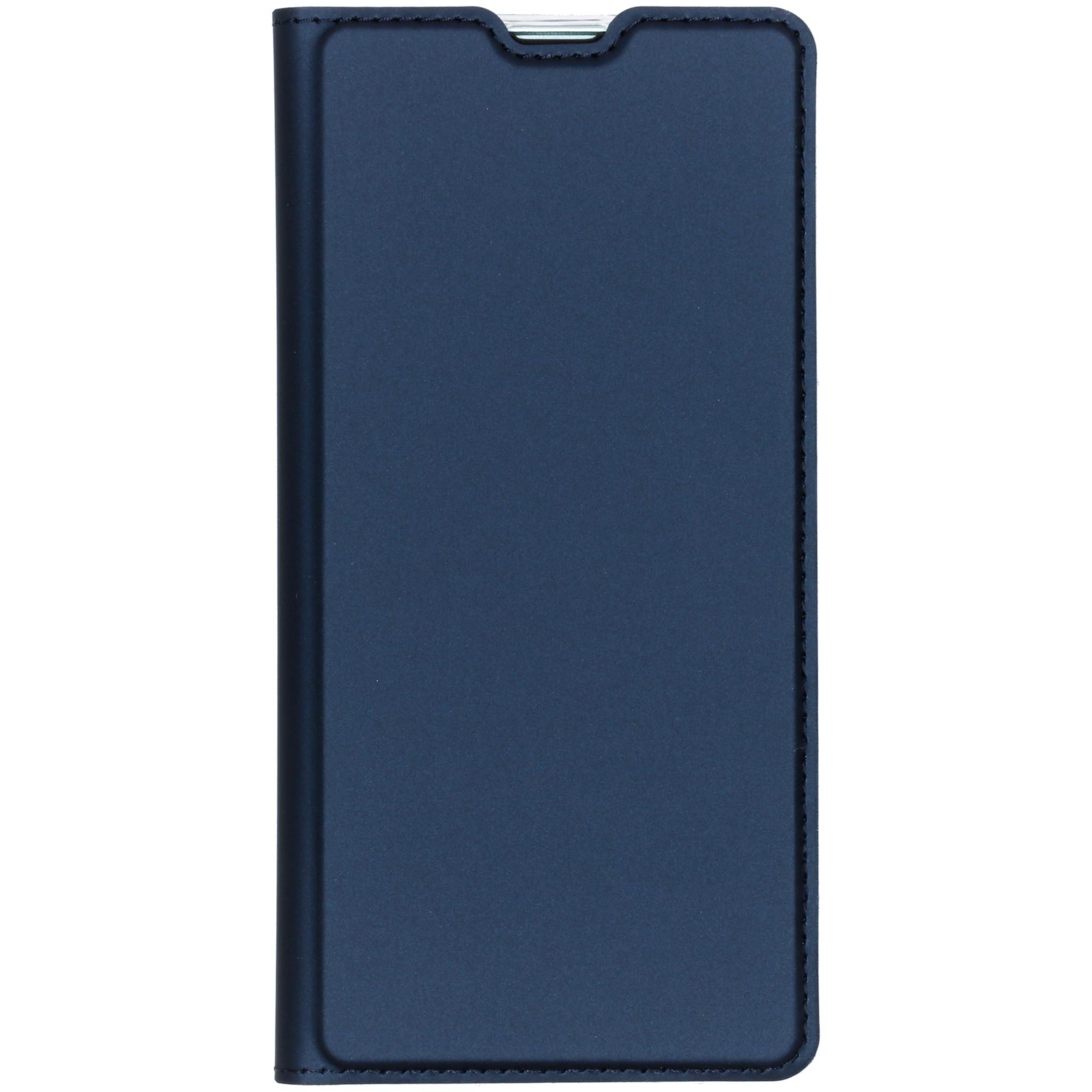 Dux Ducis Étui de téléphone Slim Samsung Galaxy S10 - Bleu foncé