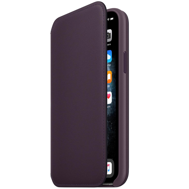 Apple Étui de téléphone Leather Folio iPhone 11 Pro