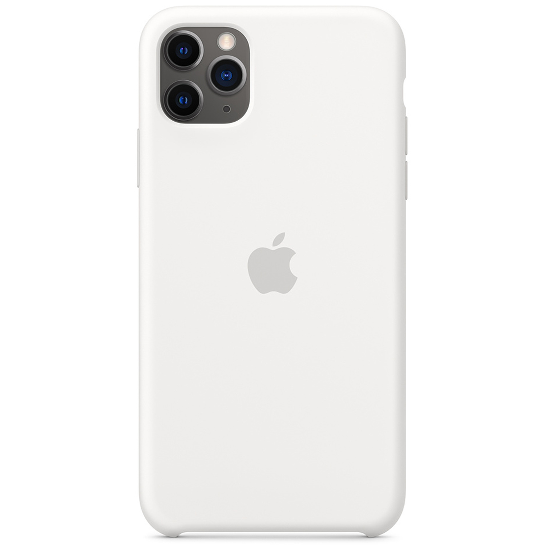 Apple Coque en silicone iPhone 11 Pro Max - Blanc