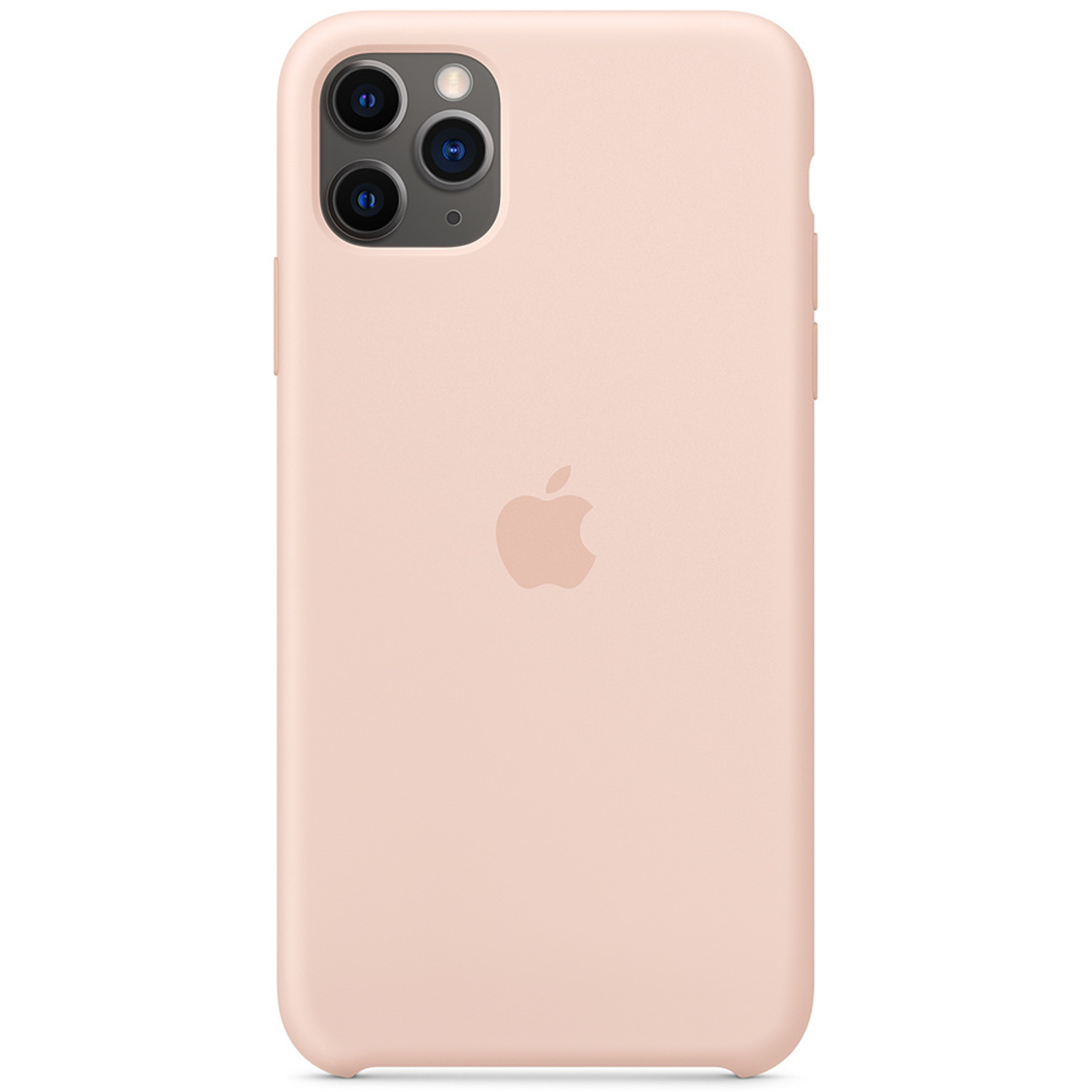Apple Coque en silicone iPhone 11 Pro Max - Pink Sand