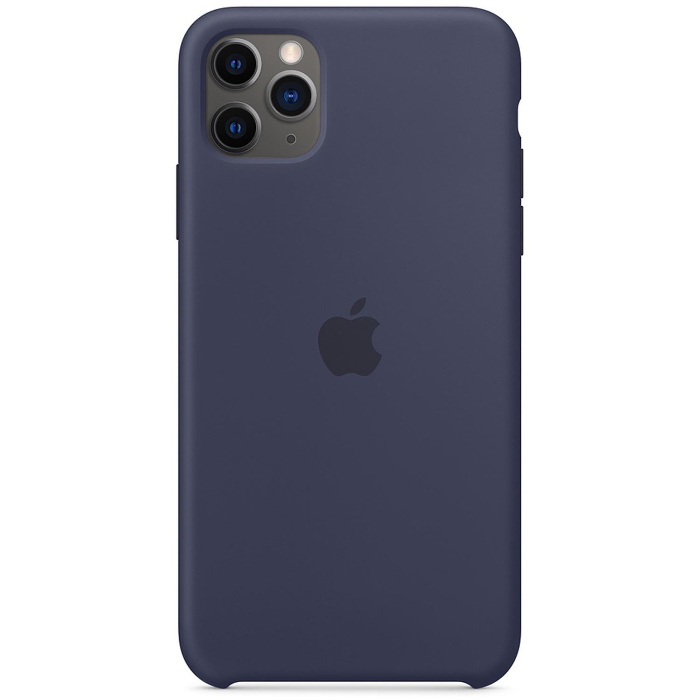 Apple Coque en silicone iPhone 11 Pro Max - Midnight Blue
