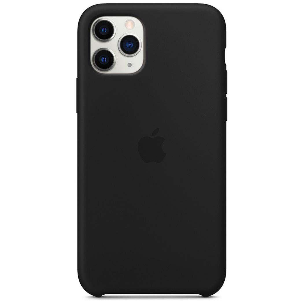Apple Coque en silicone iPhone 11 Pro Max - Noir