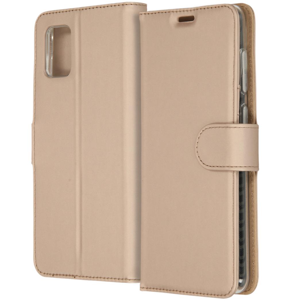 Accezz Étui de téléphone Wallet Samsung Galaxy A31 - Dorée