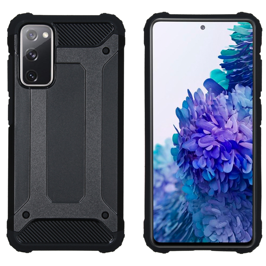 iMoshion Coque Rugged Xtreme Samsung Galaxy S20 FE - Noir