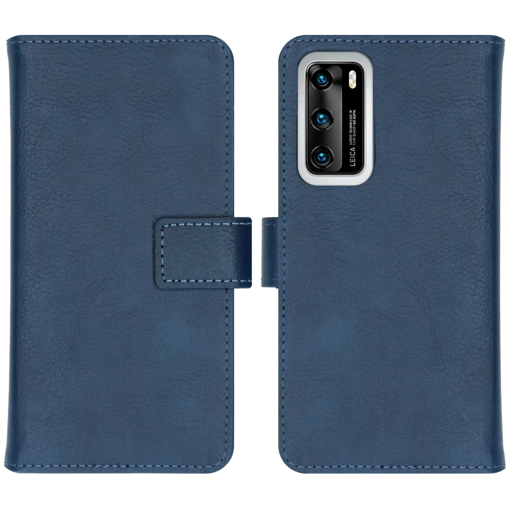 iMoshion Étui de téléphone portefeuille Luxe Huawei P40 - Bleu foncé