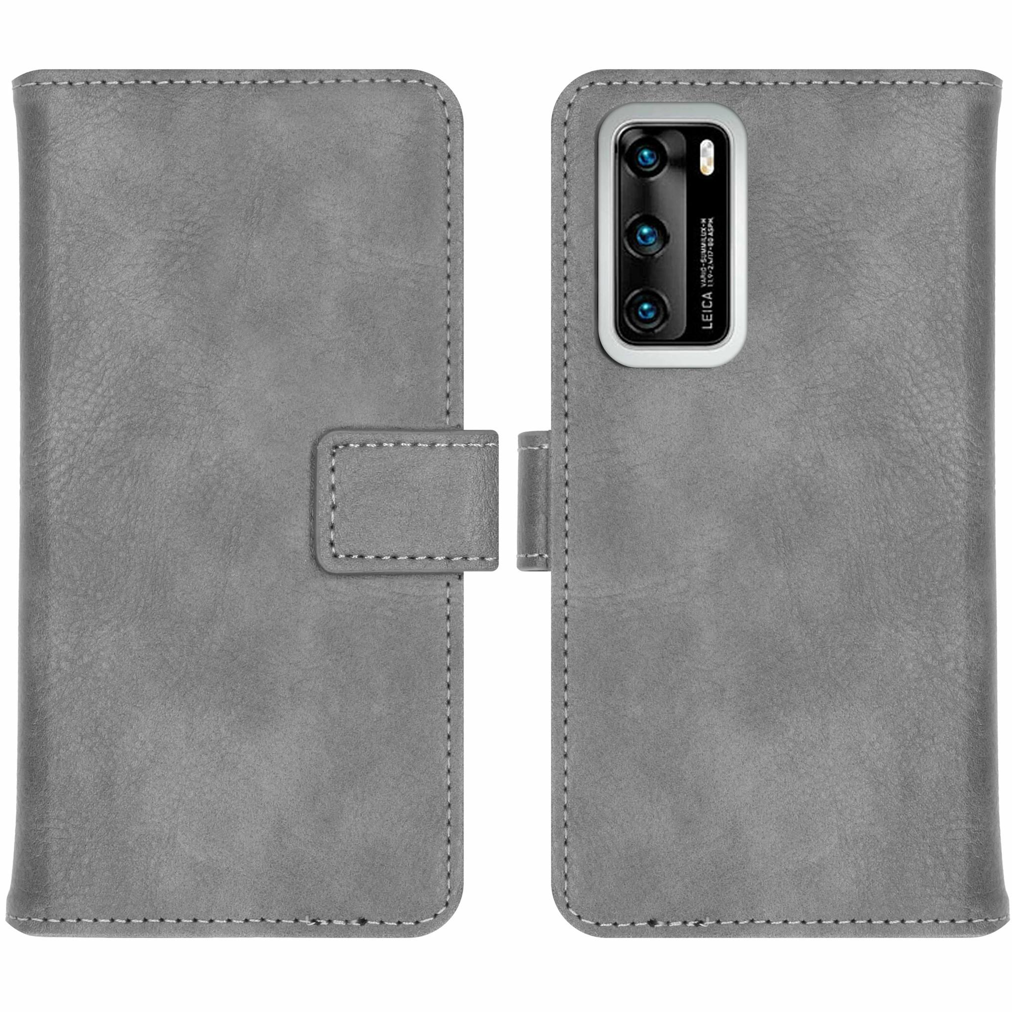 iMoshion Étui de téléphone portefeuille Luxe Huawei P40 - Gris
