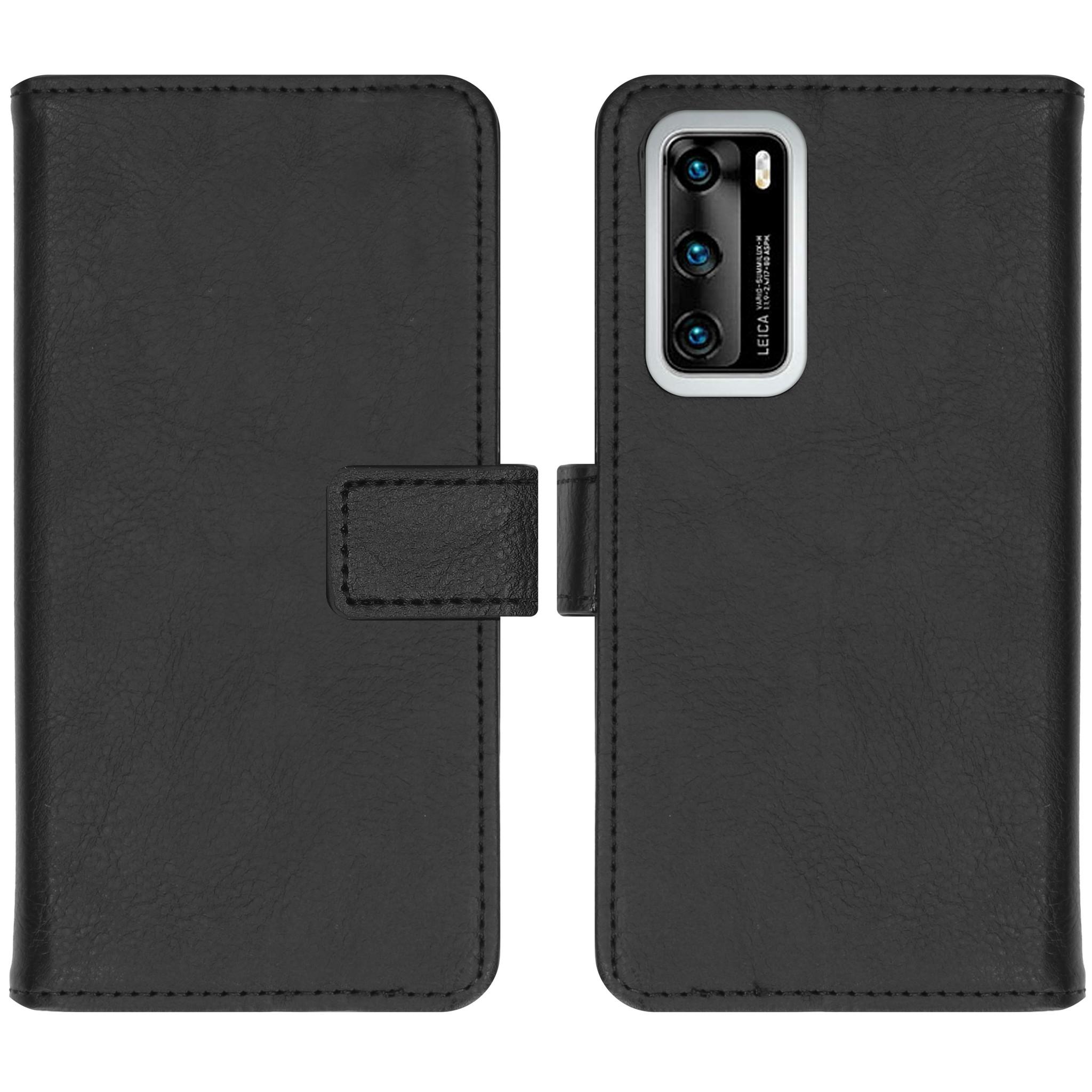 iMoshion Étui de téléphone portefeuille Luxe Huawei P40 - Noir