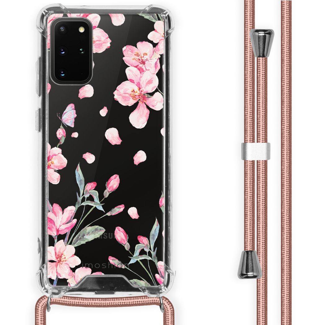 iMoshion Coque Design avec cordon Samsung Galaxy S20 Plus - Fleur