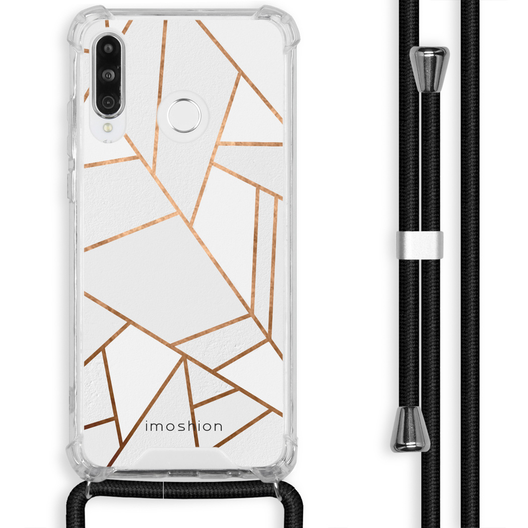 iMoshion Coque Design avec cordon Huawei P30 Lite - Cuive graphique