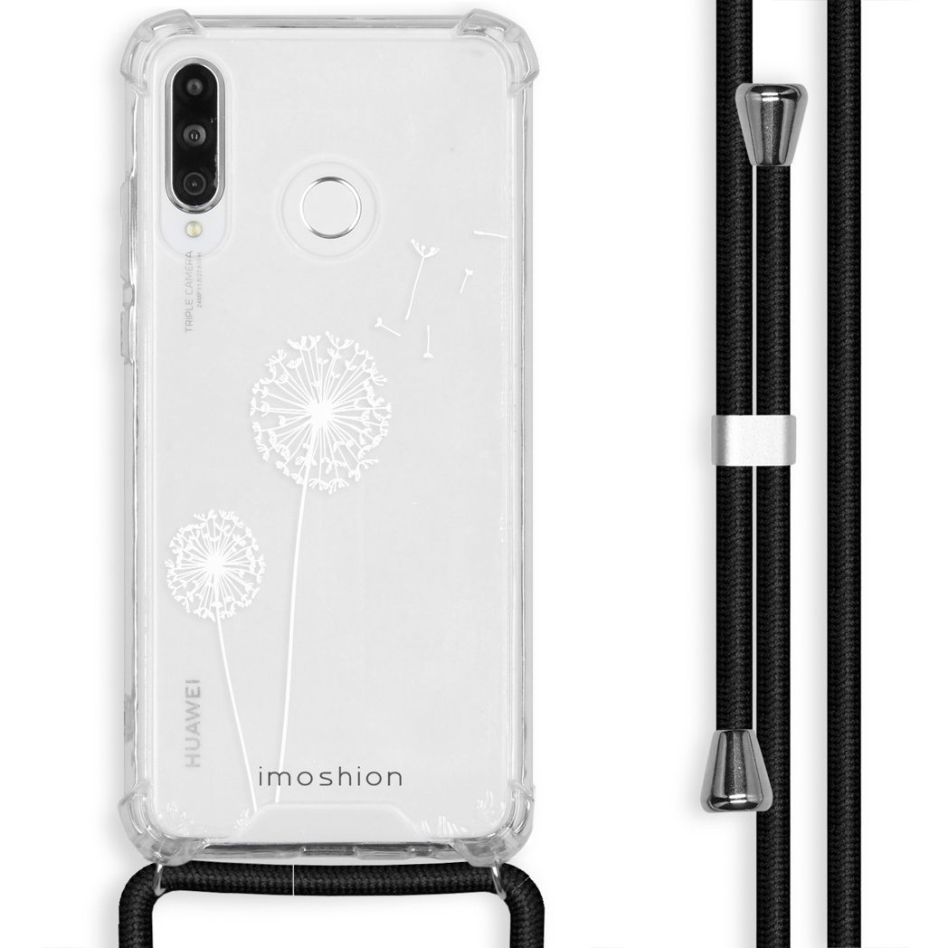iMoshion Coque Design avec cordon Huawei P30 Lite - Pissenlit - Blanc