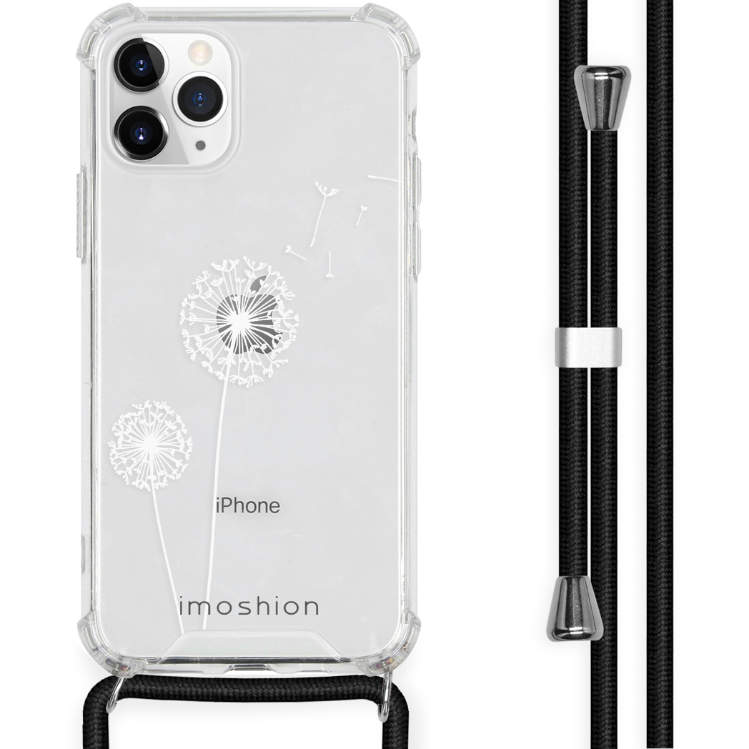 iMoshion Coque Design avec cordon iPhone 11 Pro Max - Pissenlit