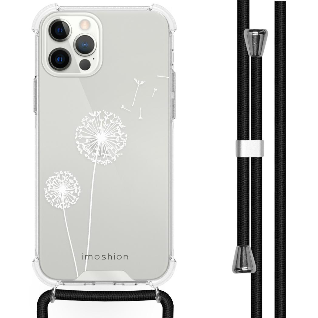 iMoshion Coque Design avec cordon iPhone 12 (Pro) - Pissenlit