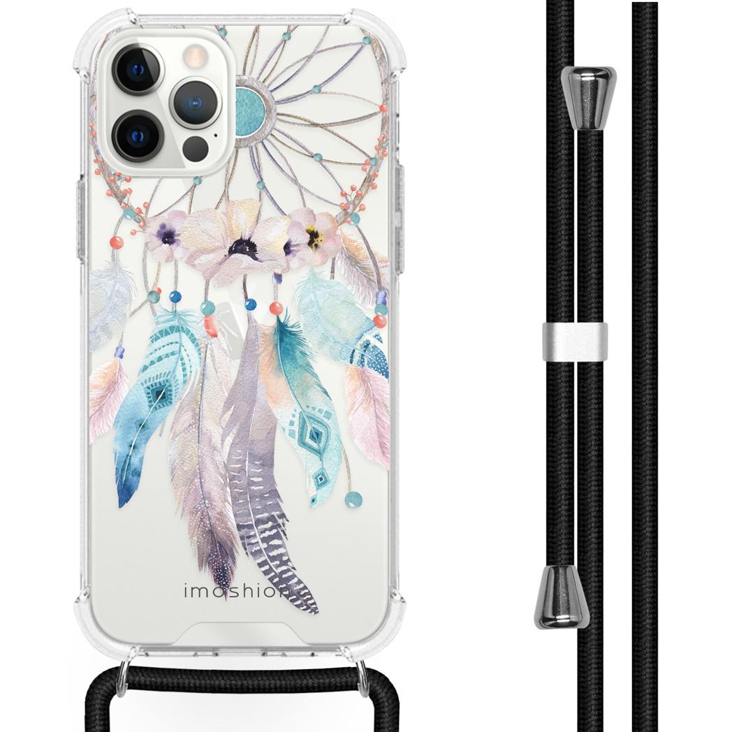 iMoshion Coque Design avec cordon iPhone 12 (Pro) - Attrape-rêves