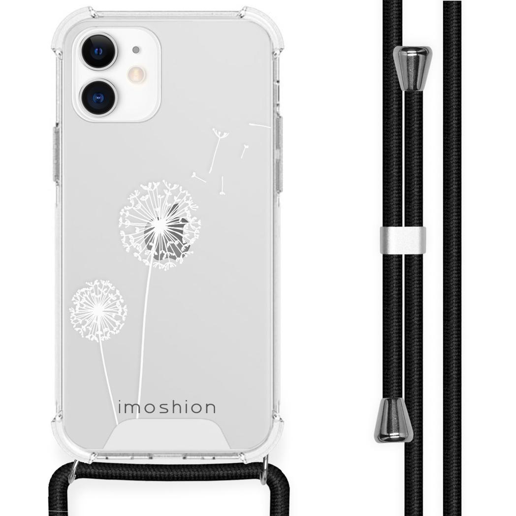 iMoshion Coque Design avec cordon iPhone 12 Mini - Pissenlit