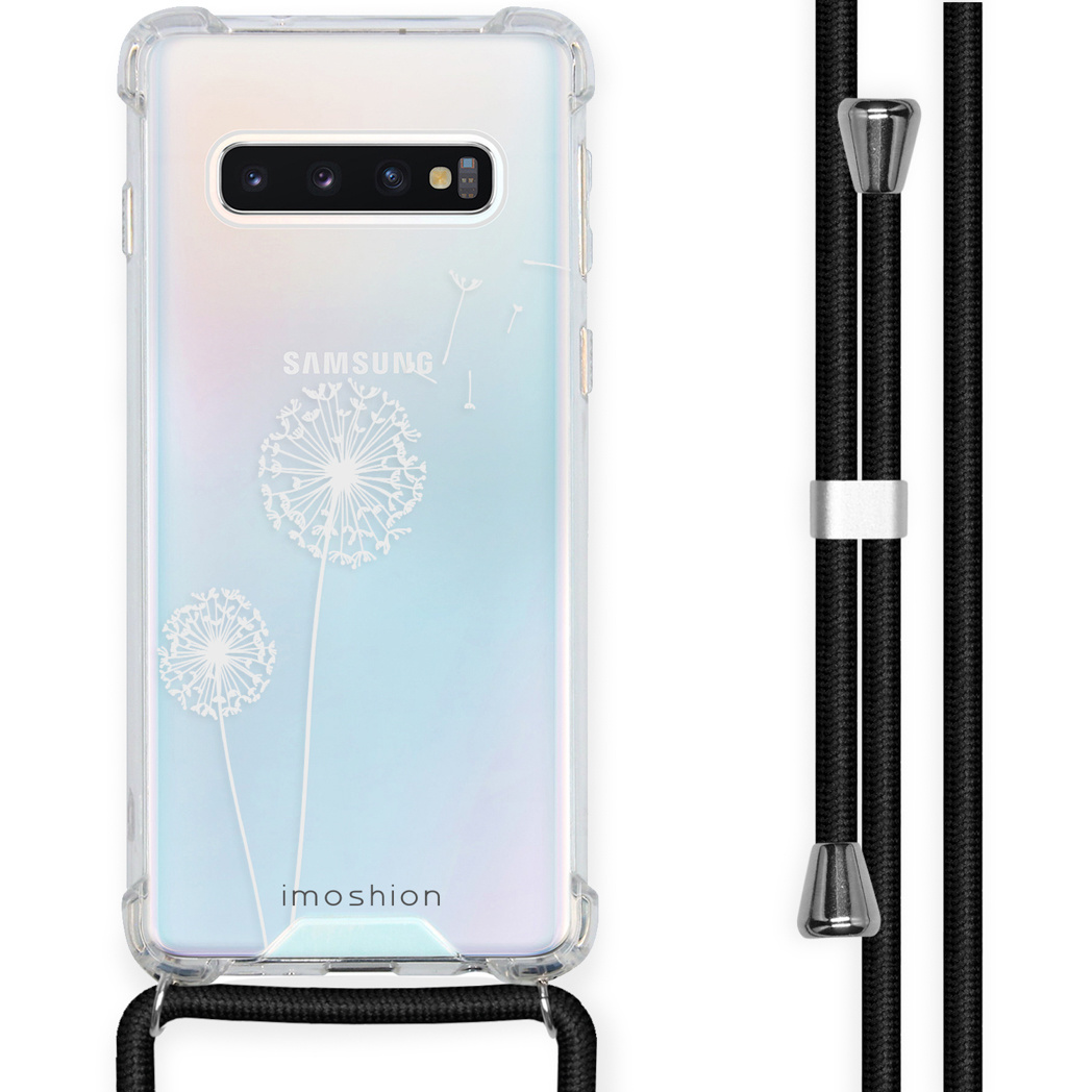 iMoshion Coque Design avec cordon Samsung Galaxy S10 - Pissenlit