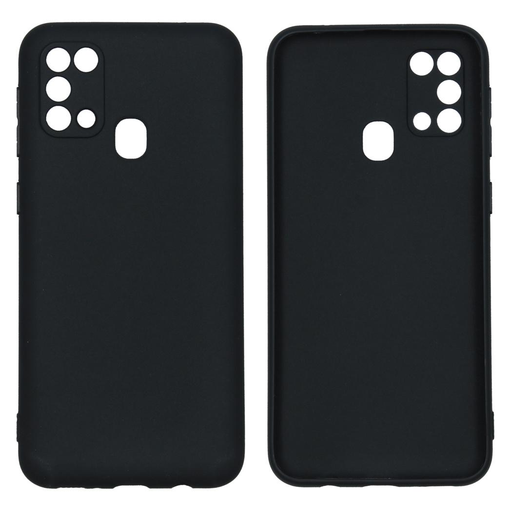 iMoshion Coque Color Samsung Galaxy M31 - Noir