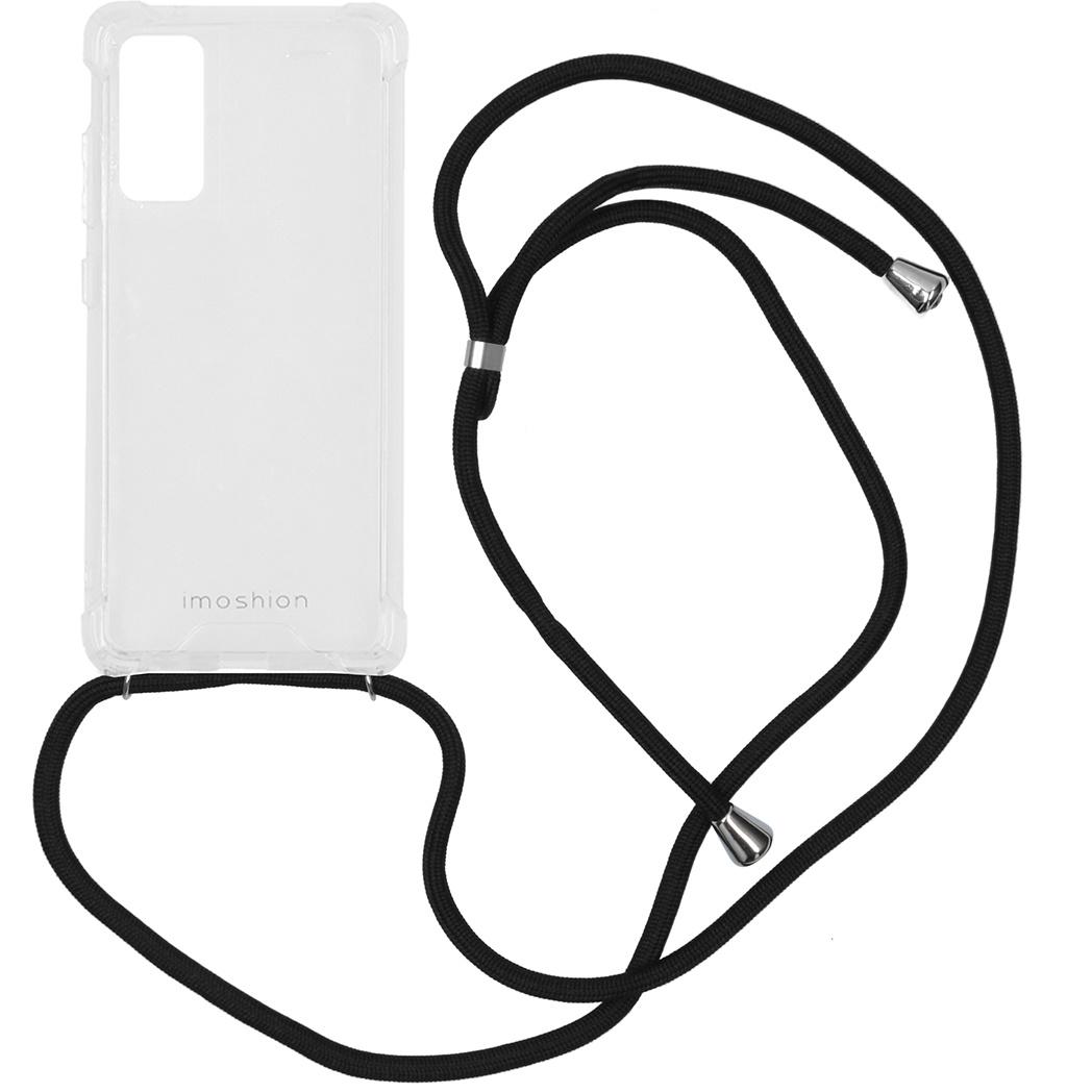 iMoshion Coque avec cordon Samsung Galaxy S20 FE - Noir