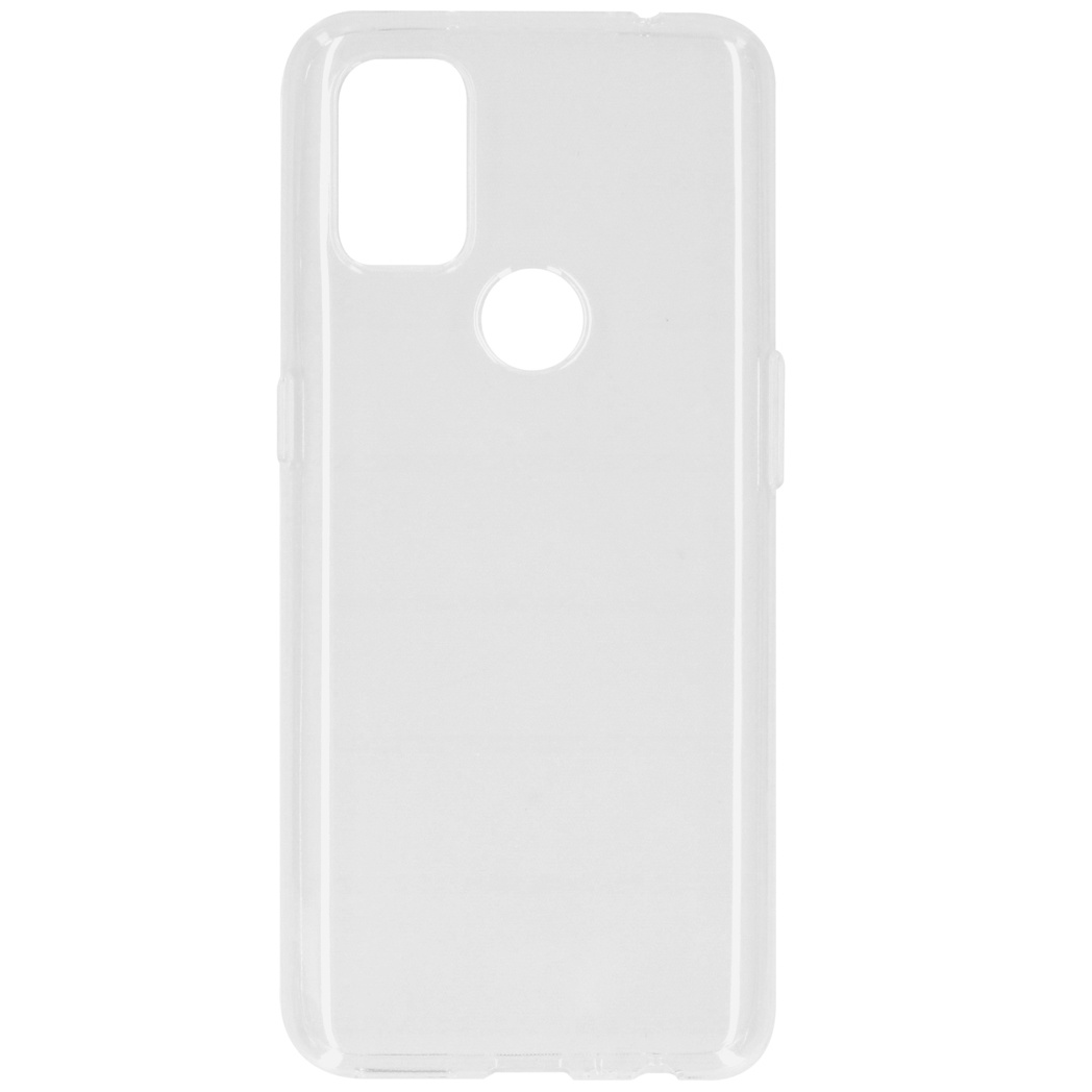 iMoshion Coque silicone OnePlus Nord N10 5G - Transparent