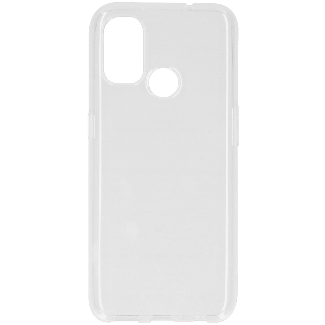 iMoshion Coque silicone OnePlus Nord N100 - Transparent