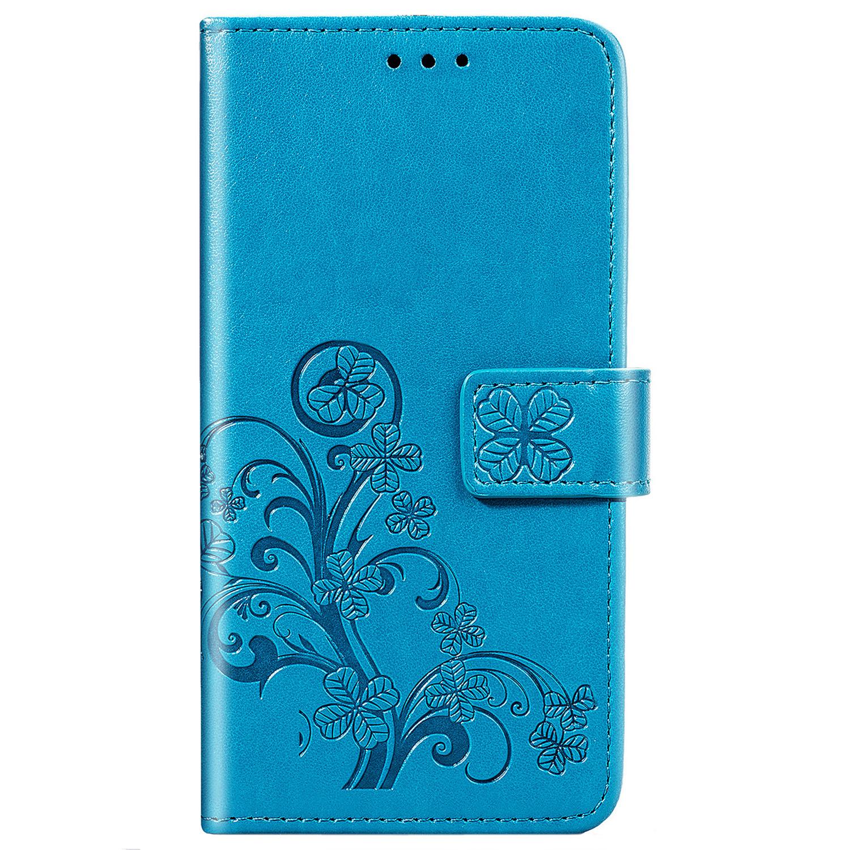 Etui de téléphone Fleurs de Trèfle Samsung Galaxy S20 FE