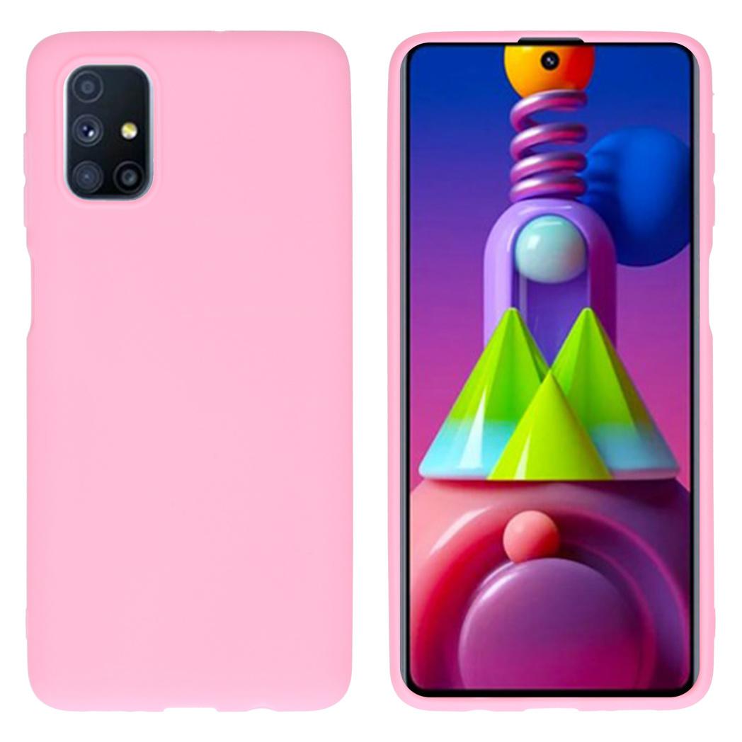 iMoshion Coque Color Samsung Galaxy M51 - Rose