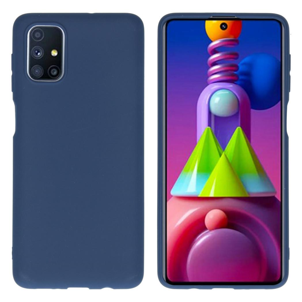 iMoshion Coque Color Samsung Galaxy M51 - Bleu foncé