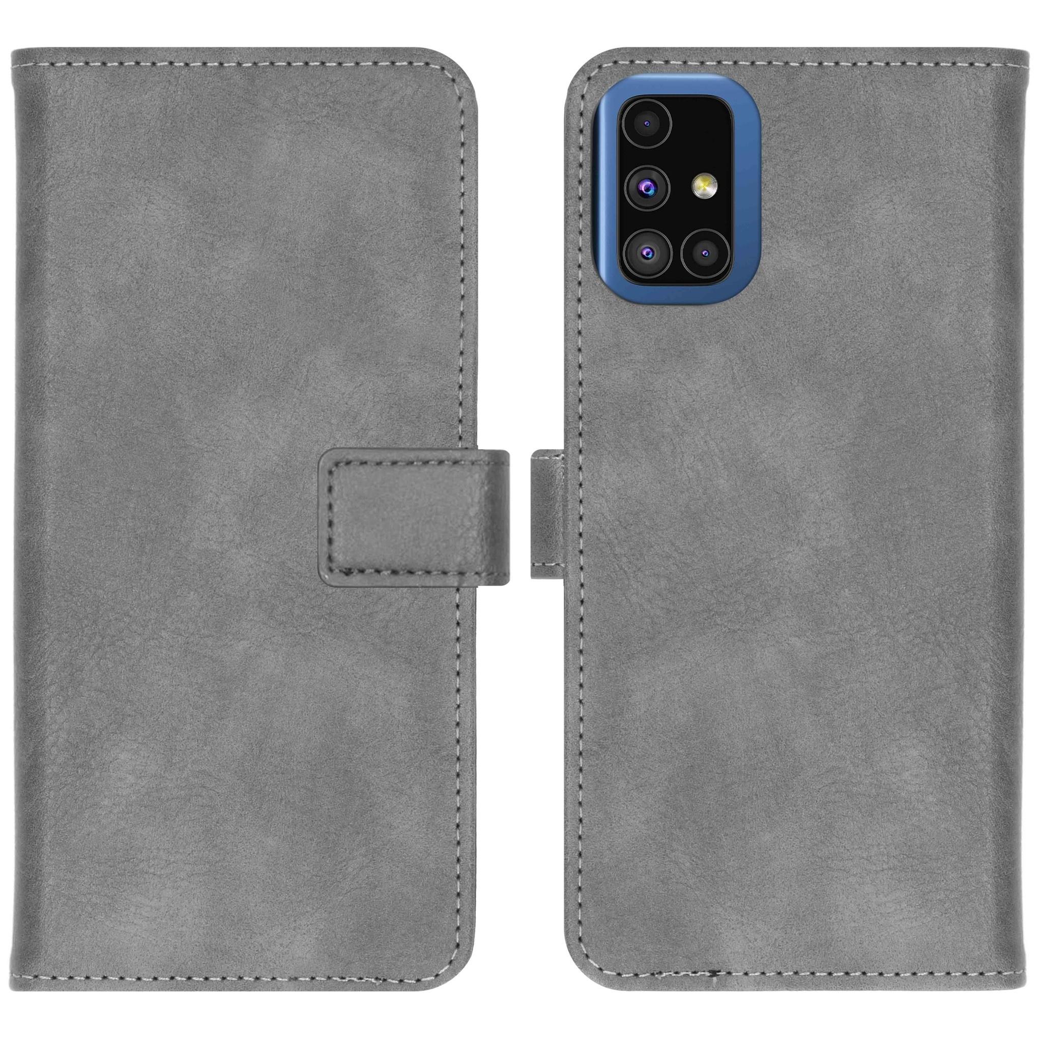 iMoshion Étui de téléphone Luxe Samsung Galaxy M51 - Gris