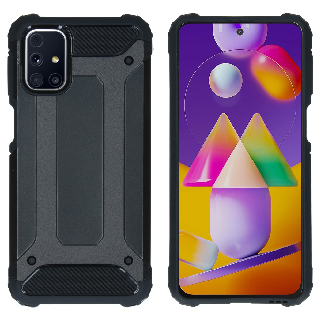 iMoshion Coque Rugged Xtreme Samsung Galaxy M31s - Noir