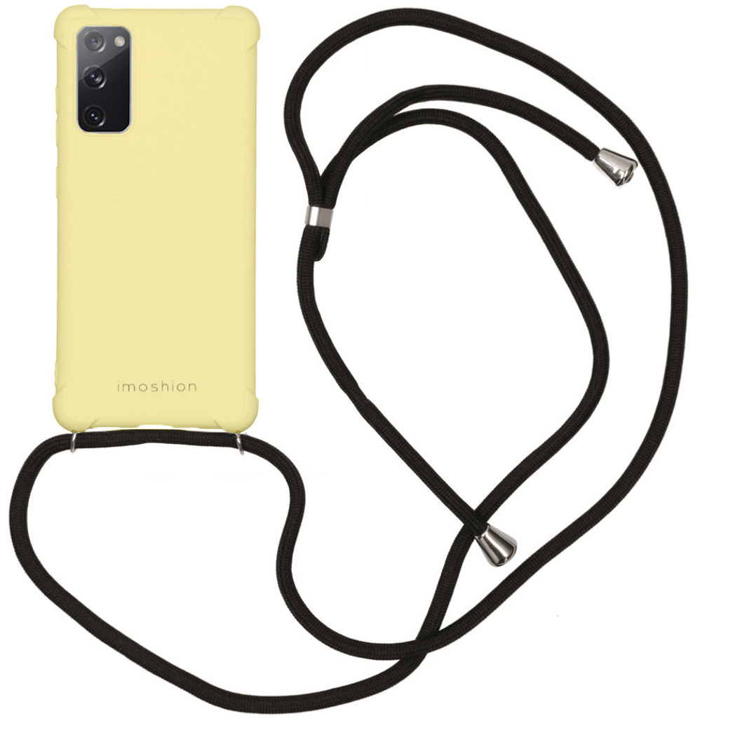 iMoshion Coque Color avec cordon Samsung Galaxy S20 FE