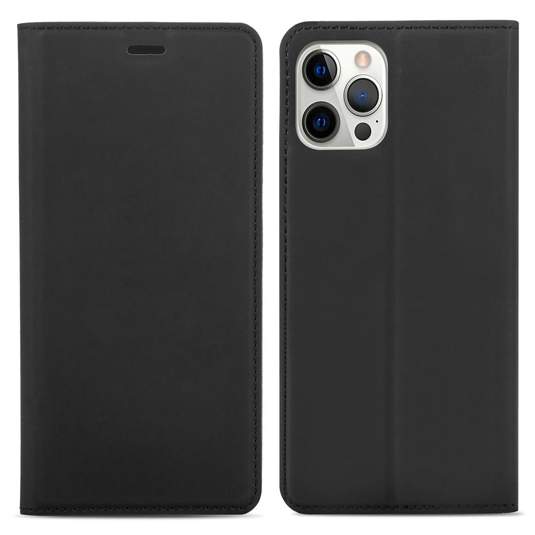 iMoshion Étui de téléphone Slim Folio iPhone 12 (Pro) - Noir
