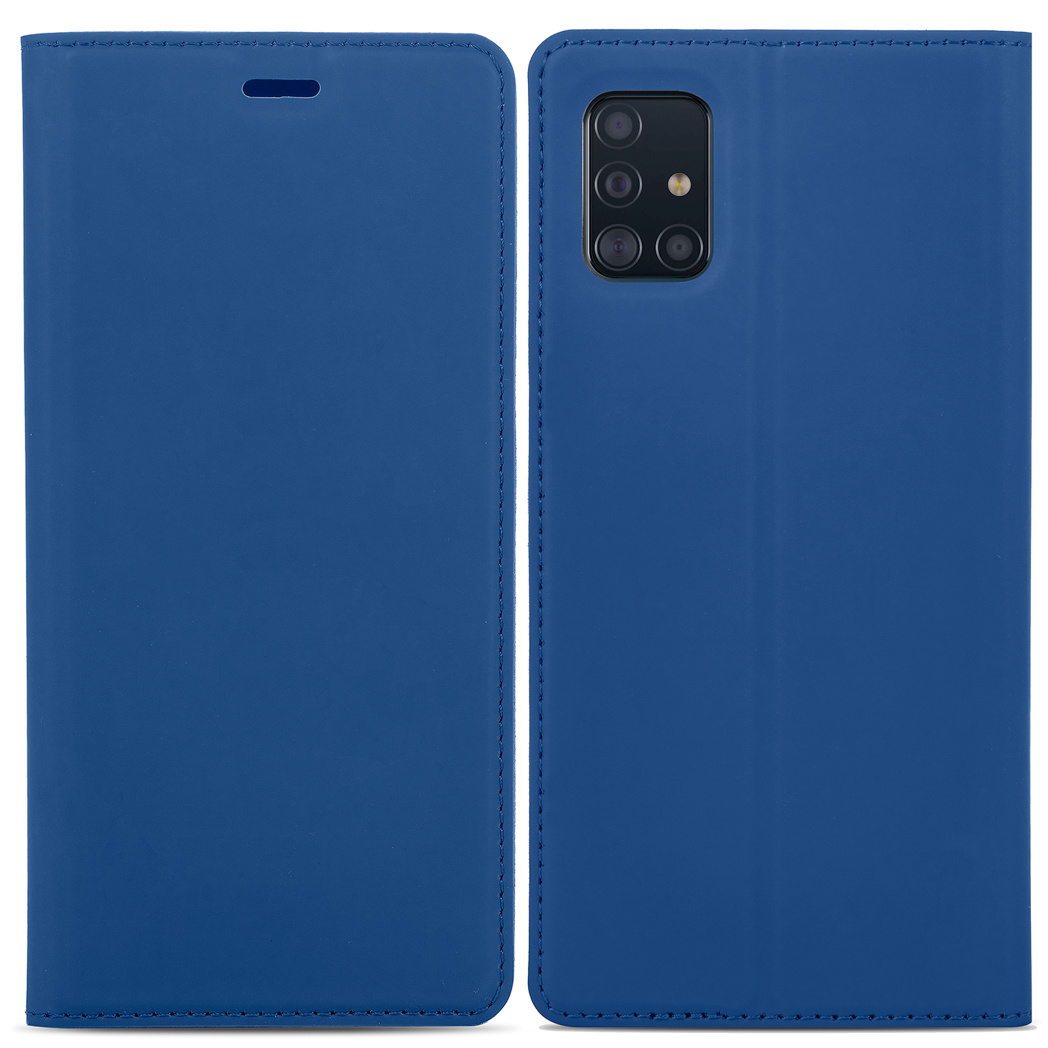 iMoshion Étui de téléphone Slim Folio Samsung Galaxy M31s -Bleu foncé