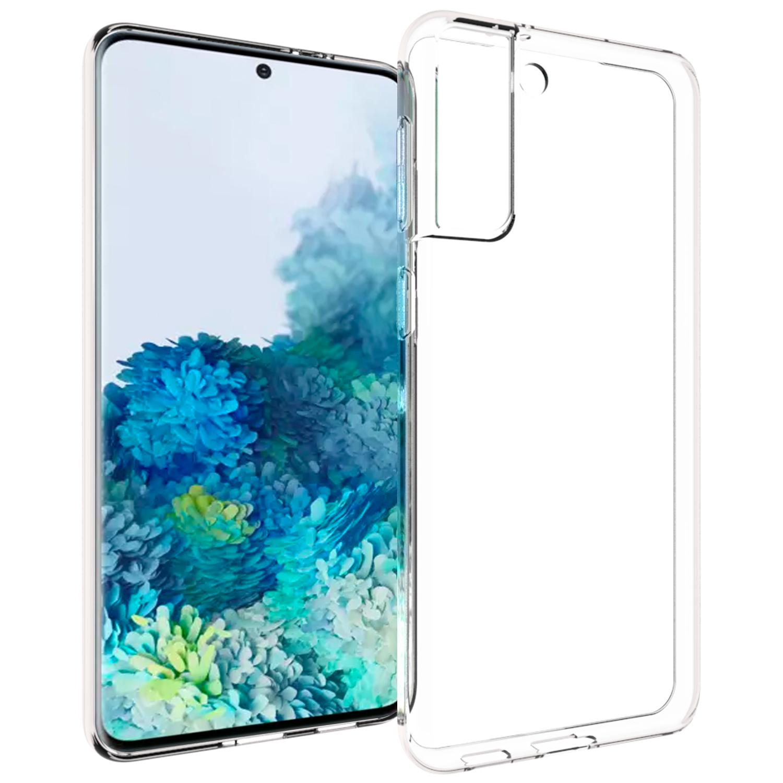Accezz Coque Clear Samsung Galaxy S21 Plus - Transparent