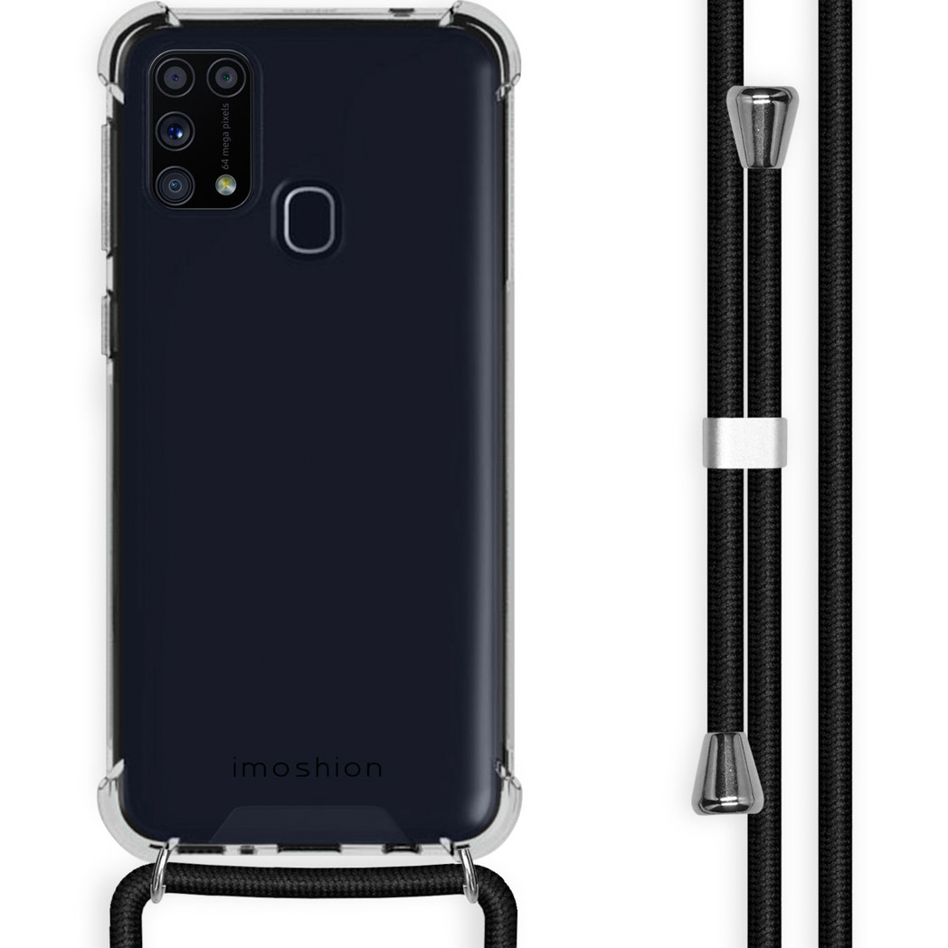 iMoshion Coque avec cordon Samsung Galaxy M31 - Noir