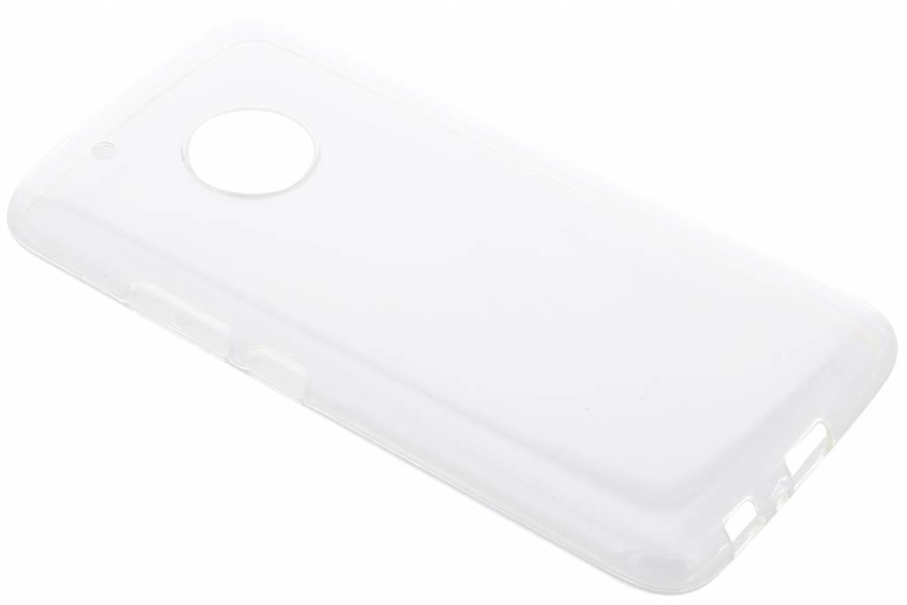 Coque silicone Motorola Moto G5 Plus - Transparent