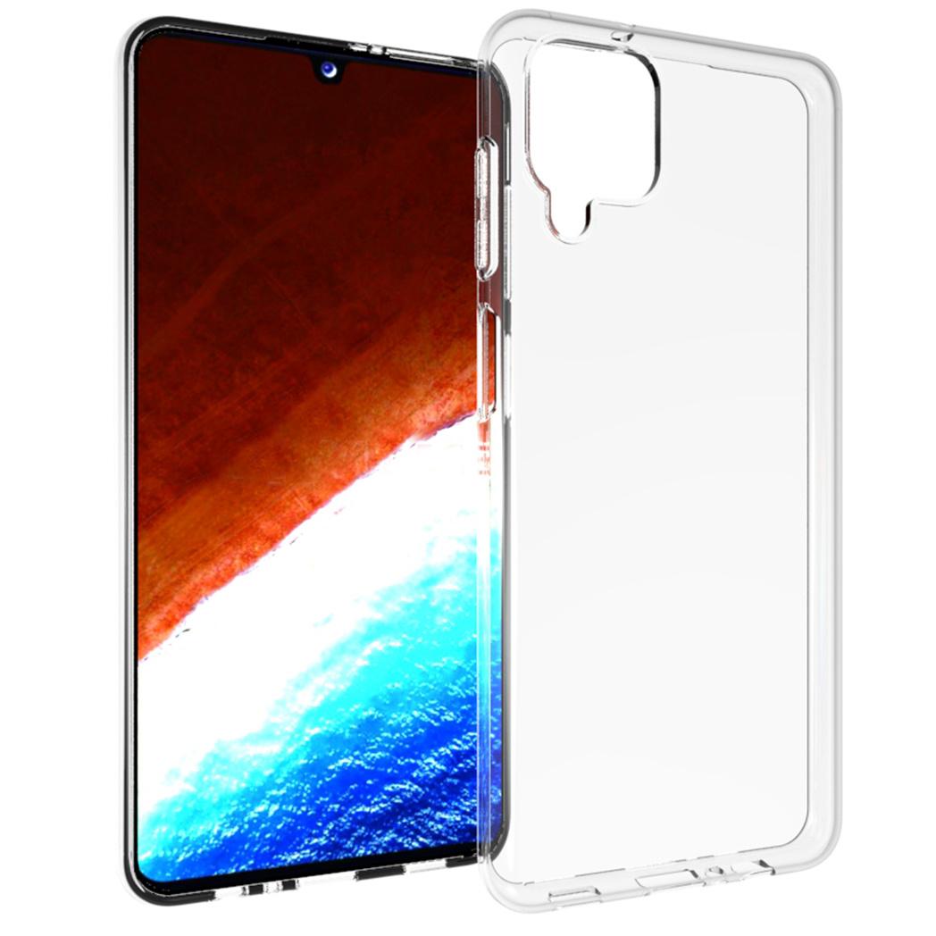 Accezz Coque Clear Samsung Galaxy A12 - Transparent