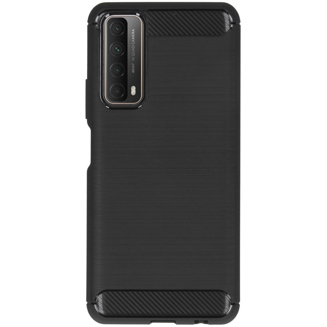 Coque brossée Huawei P Smart (2021) - Noir
