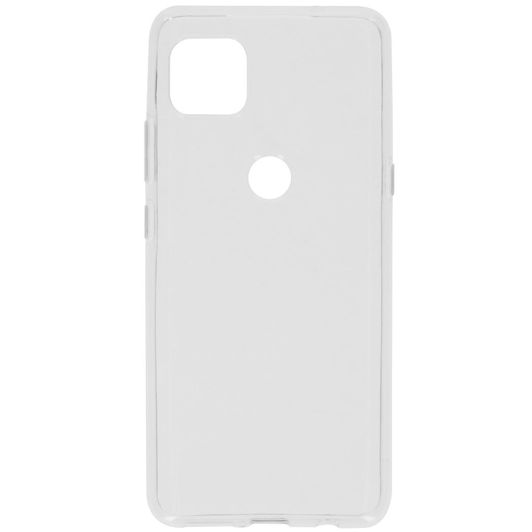iMoshion Coque silicone Motorola Moto G 5G - Transparent