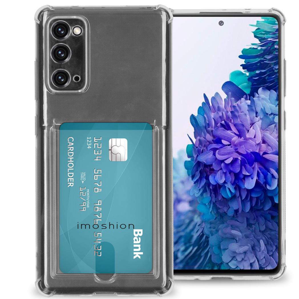 iMoshion Coque silicone avec support de passe Samsung Galaxy S20 FE