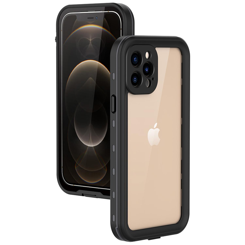 Redpepper Coque imperméable Dot Plus iPhone 12 Pro - Noir