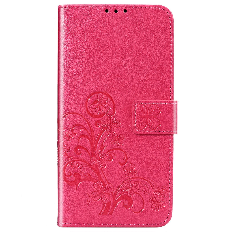 Etui de téléphone Fleurs de Trèfle Sony Xperia L4