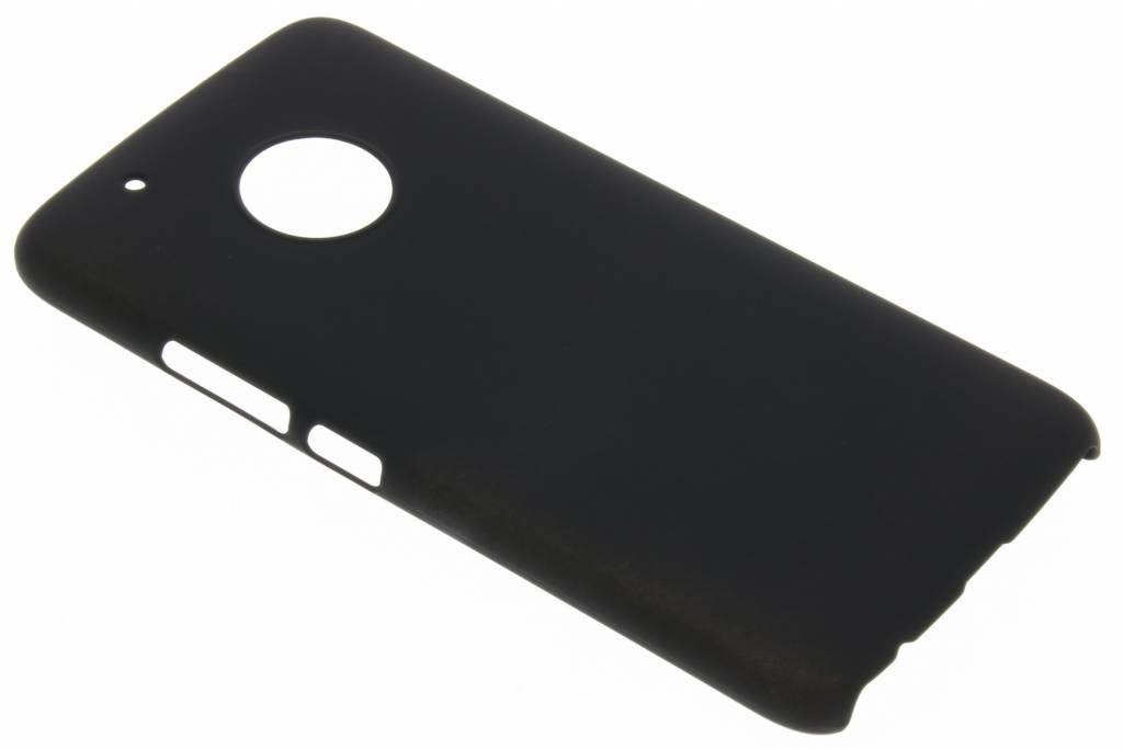 Coque unie Motorola Moto G5 Plus - Noir