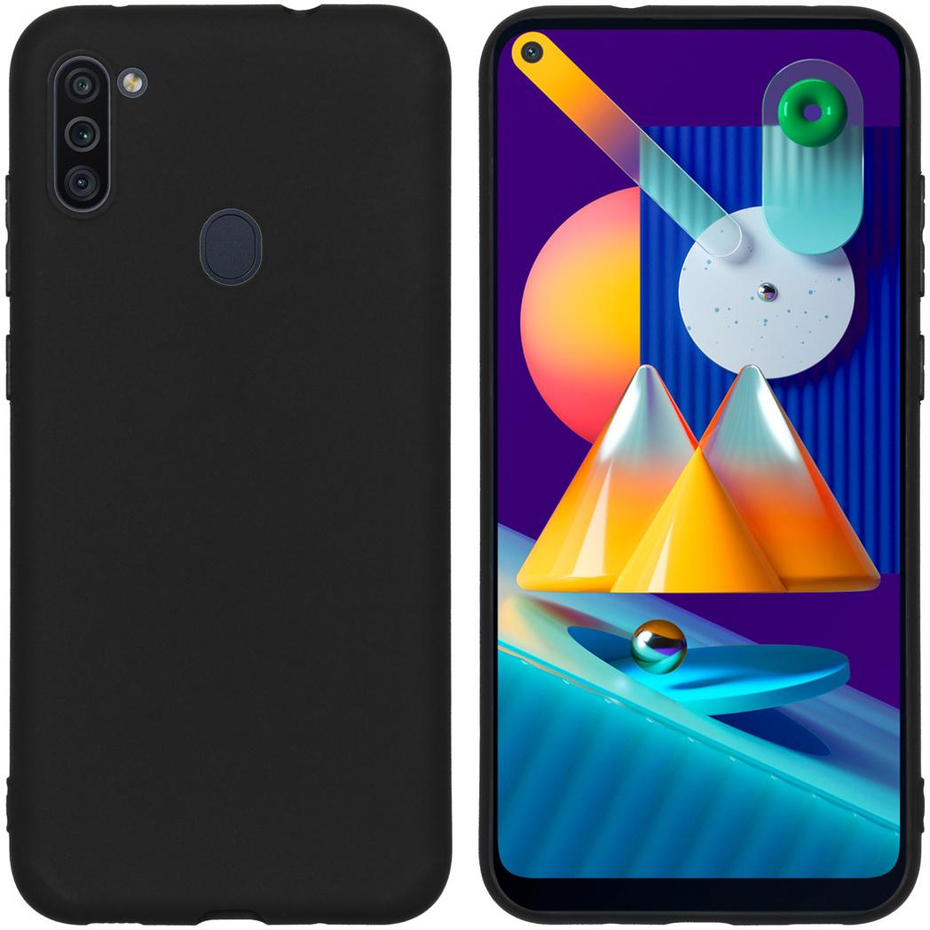 iMoshion Coque Color Samsung Galaxy M11 / A11 - Noir