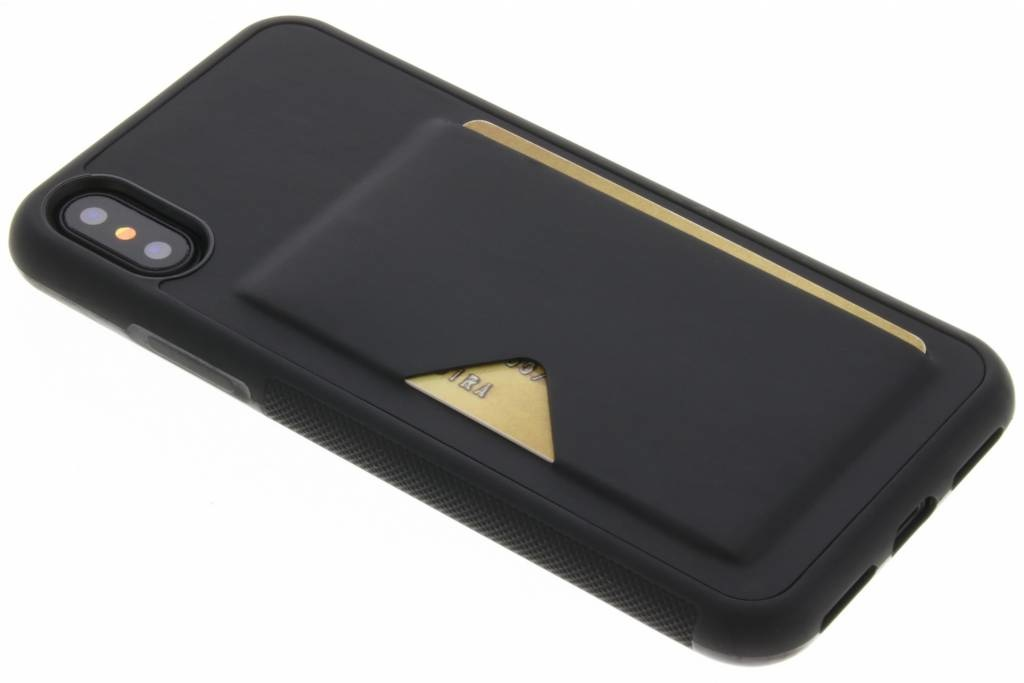 Dux Ducis Coque Cardlock iPhone X / Xs - Noir