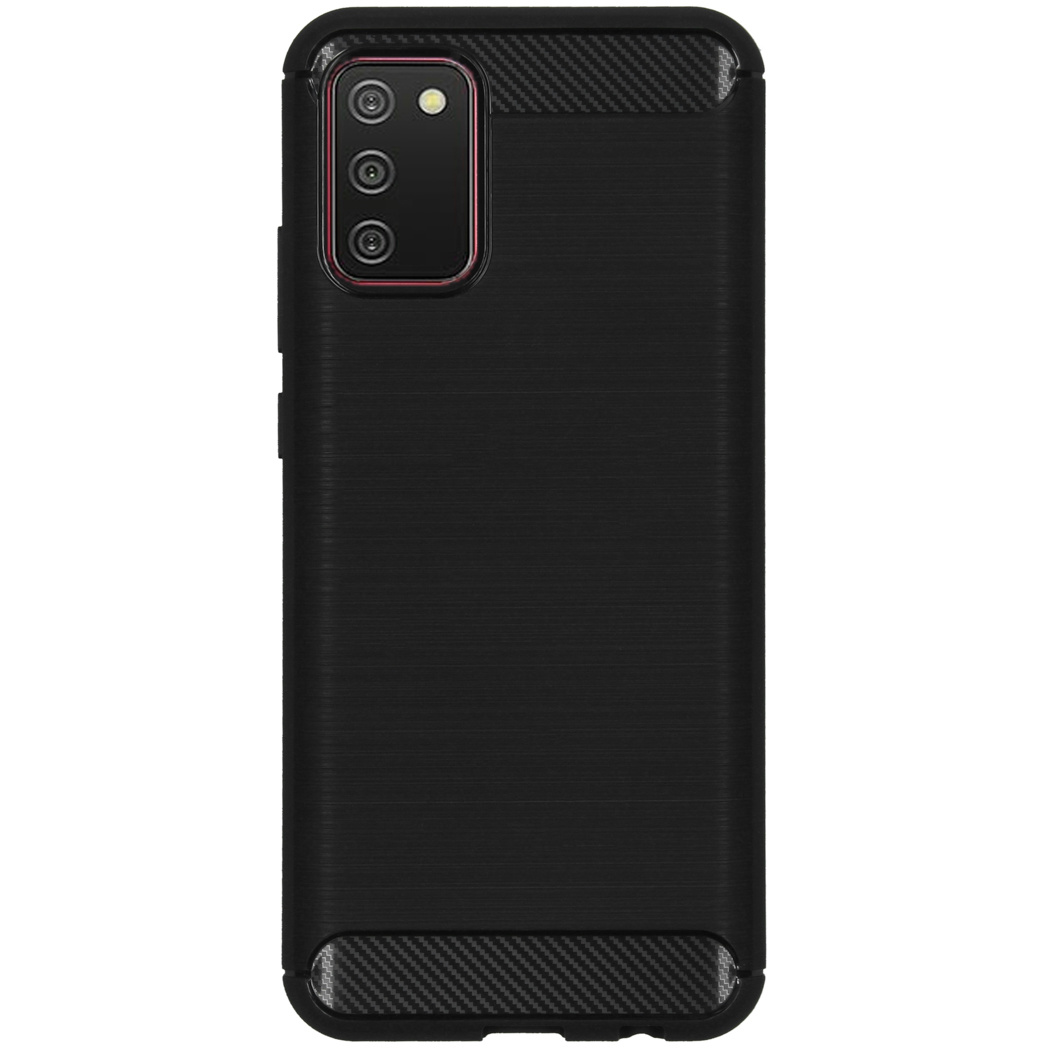 Coque brossée Samsung Galaxy A02s - Noir