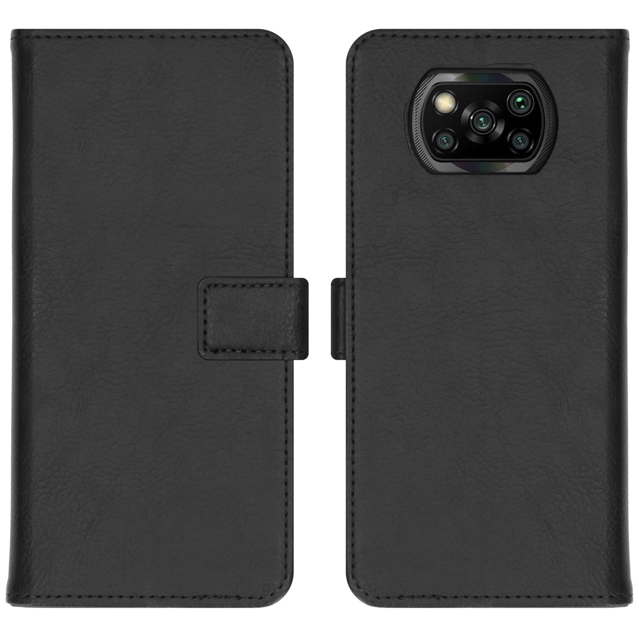 iMoshion Étui de téléphone portefeuille Luxe Xiaomi Poco X3
