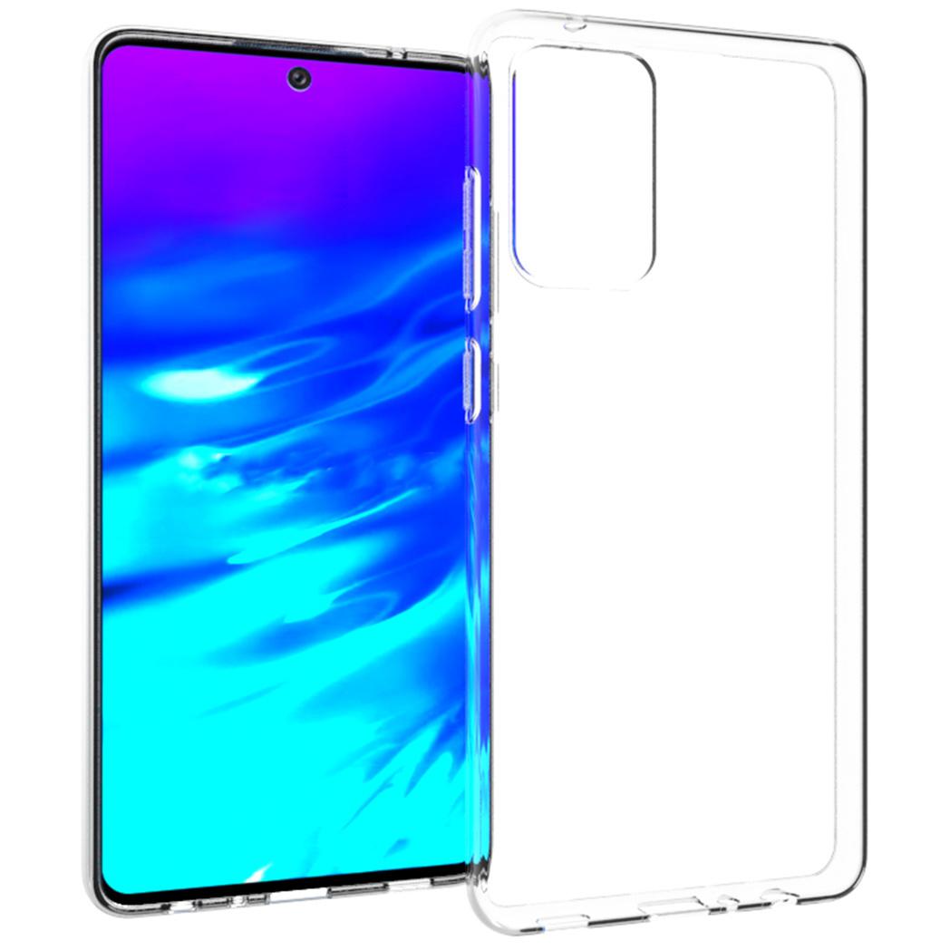 Accezz Coque Clear Samsung Galaxy A72 - Transparent