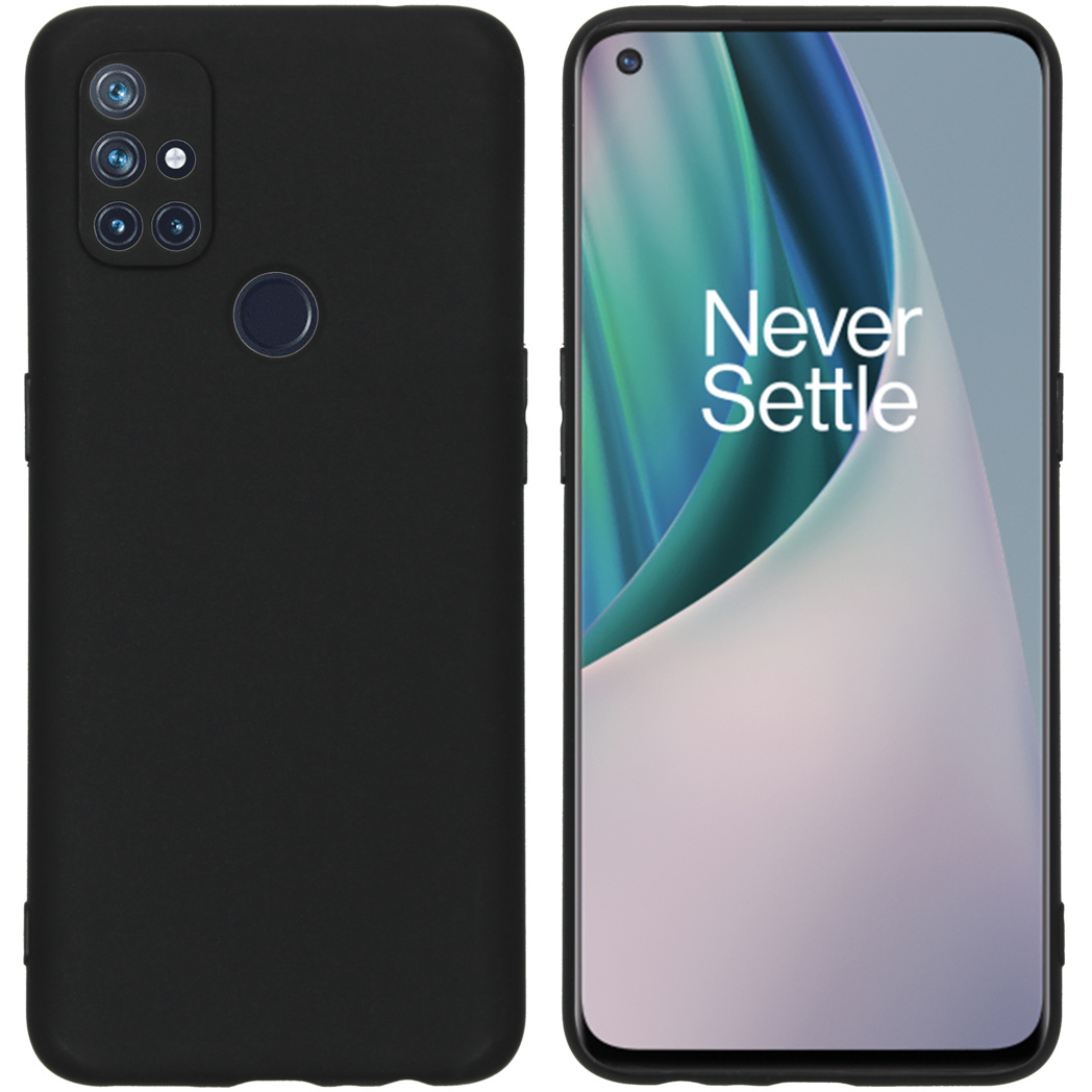 iMoshion Coque Color OnePlus Nord N10 5G - Noir