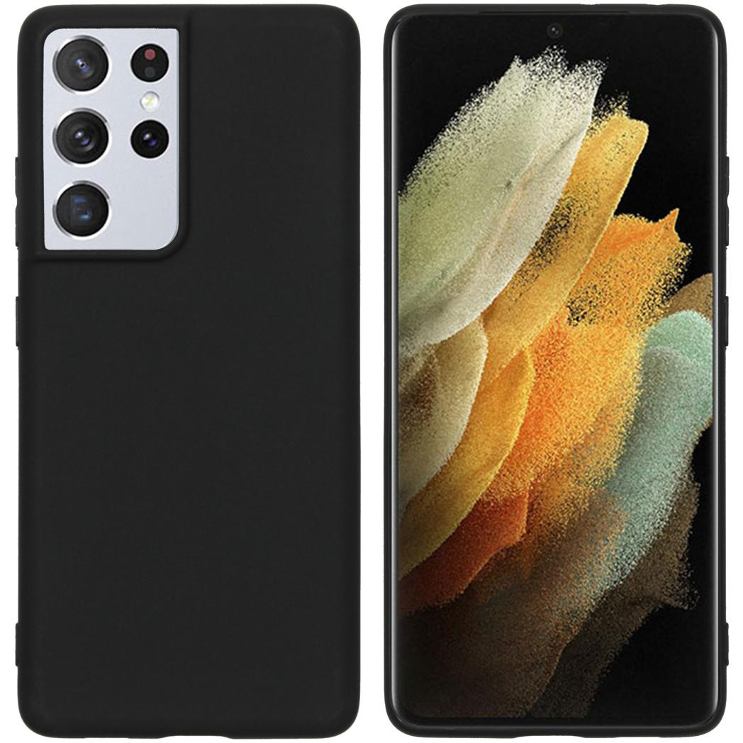 iMoshion Coque Color Samsung Galaxy S21 Ultra - Noir