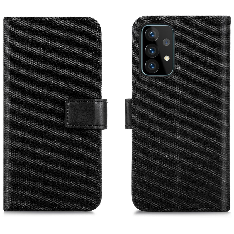 iMoshion Étui de téléphone portefeuille Canvas Luxe Galaxy A72