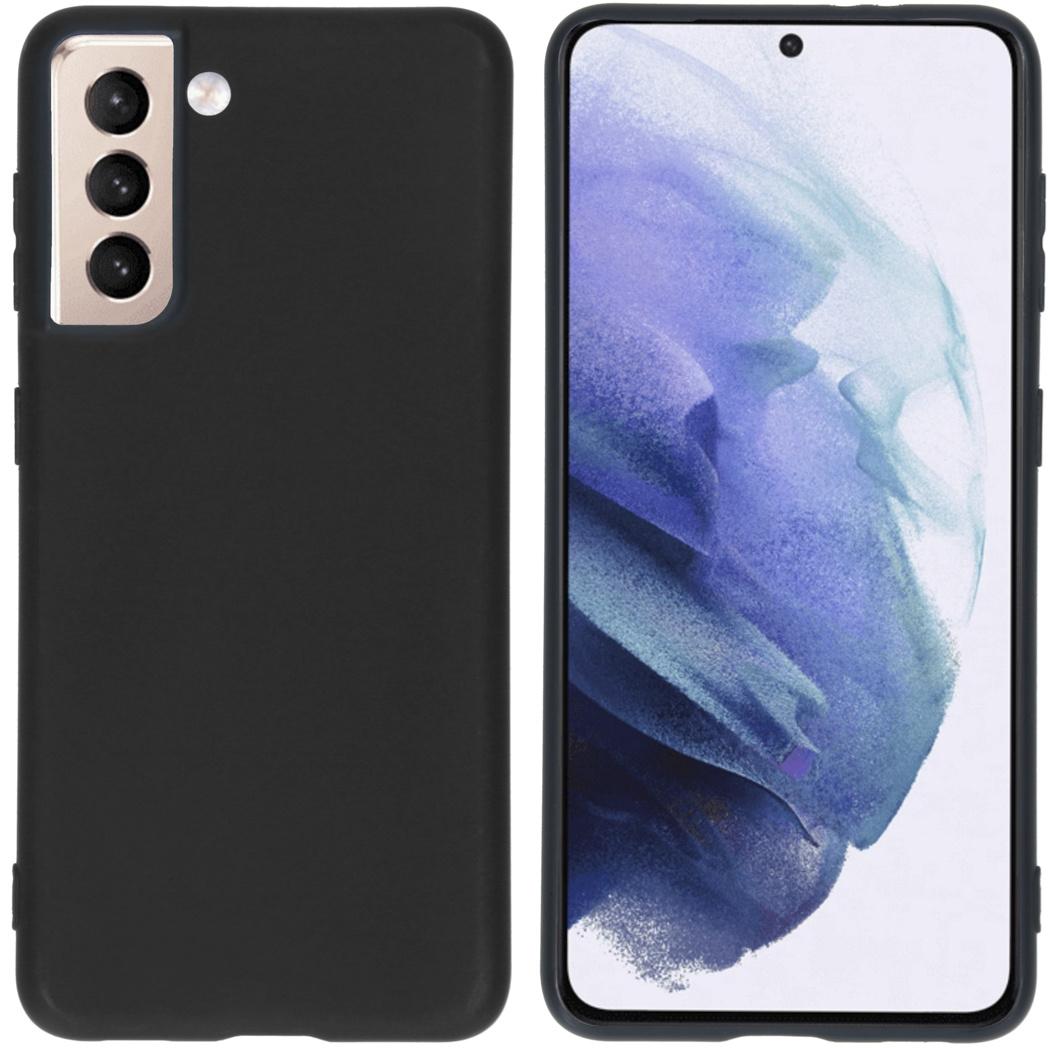 iMoshion Coque Color Samsung Galaxy S21 - Noir